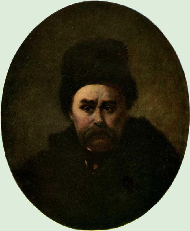Т.Г.Шевченко. Автопортрет. [СПб.]. [І-II 1861]. Полотно, олія (59 : 49 см).