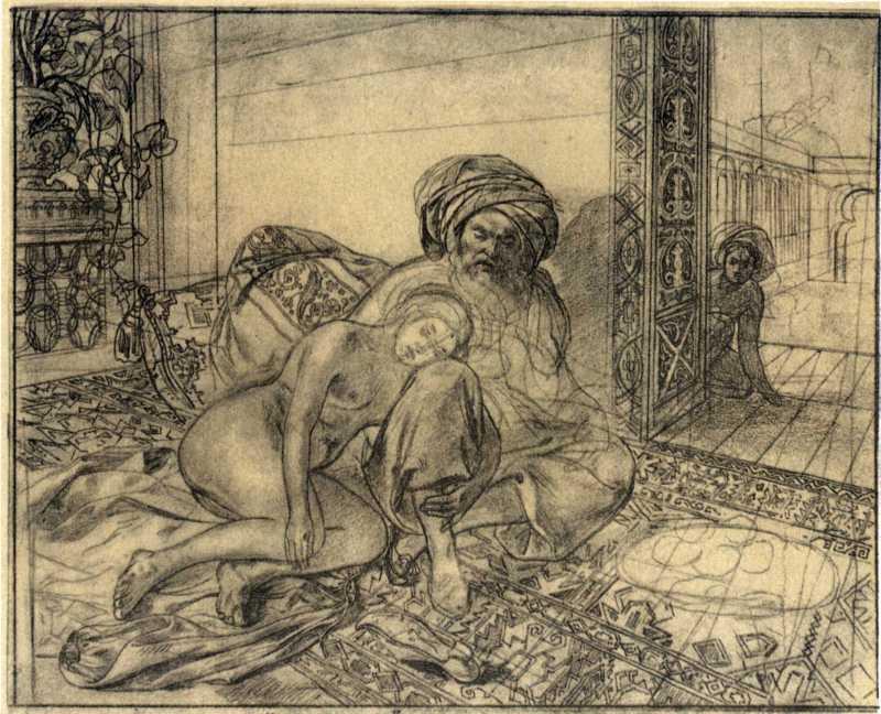 Taras Shevchenko. In the harem