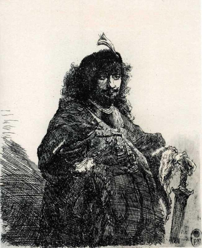 Тарас Шевченко. Автопортрет Рембрандта…