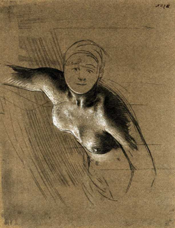 Taras Shevchenko. Mermaid. Sketch (2)