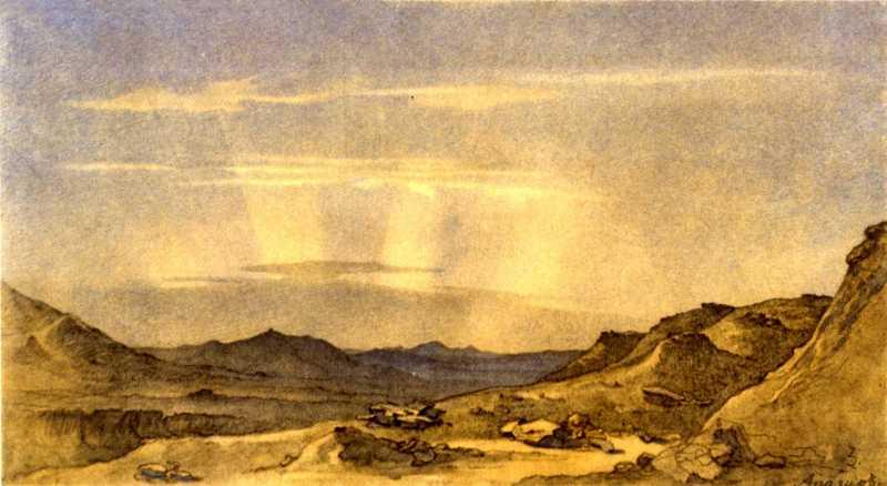 Taras Shevchenko. View of Kara-Tau…