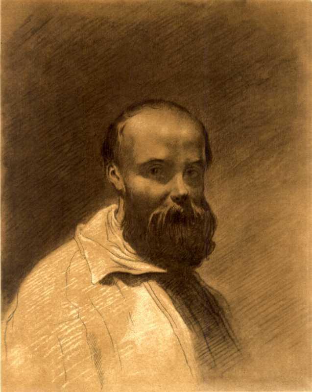 Тарас Шевченко. Автопортрет 1851 г.