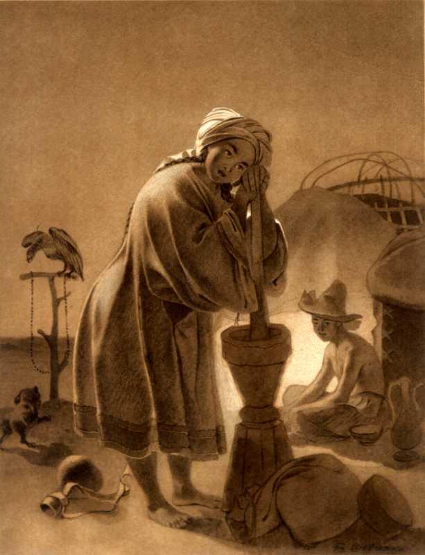 Тарас Шевченко. Казашка
