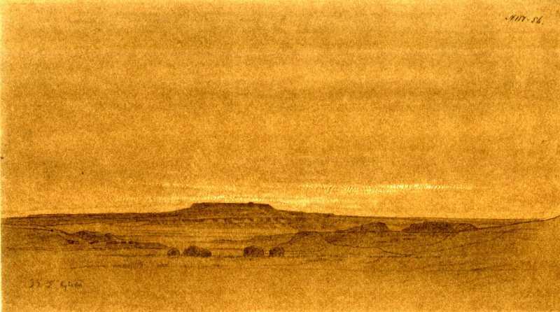 Тарас Шевченко. Гора Кулаат