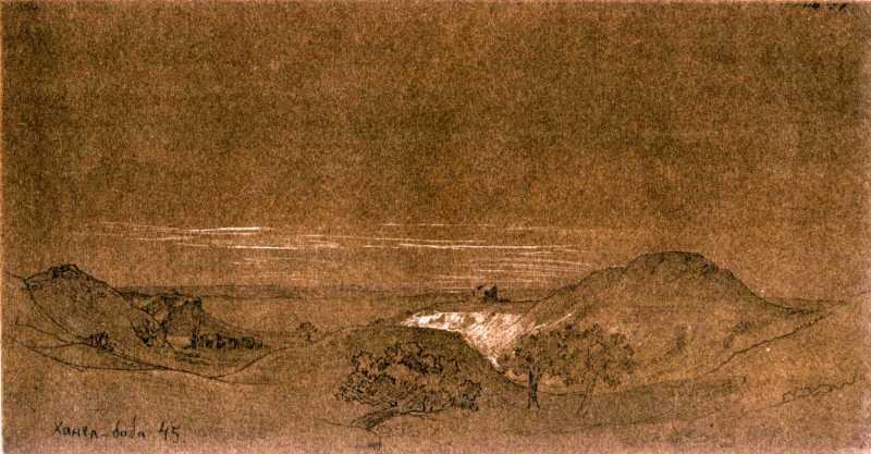 Тарас Шевченко. Ханга-Баба (2)