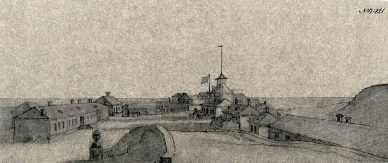 Taras Shevchenko. Novopetrovsk fort.…