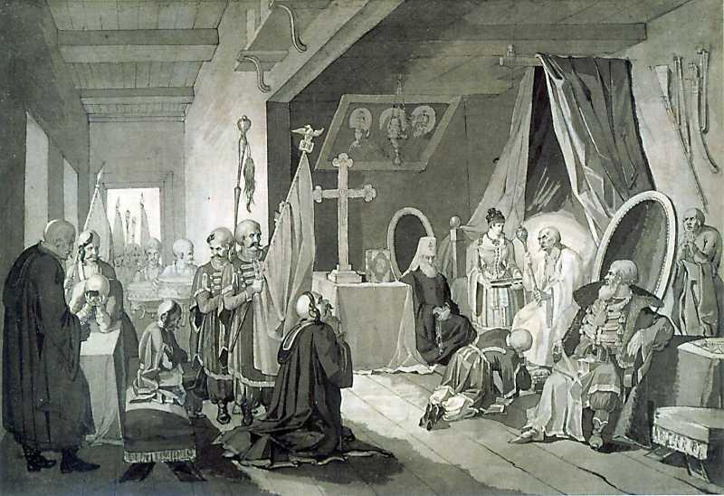 Картинки по запросу смерть богдана хмельницкого