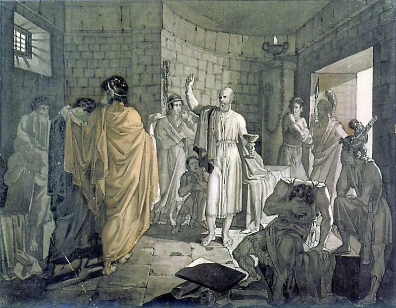 Taras Shevchenko. Death of Socrates