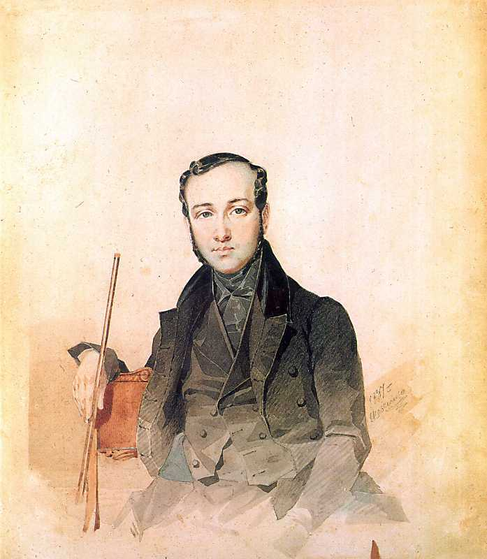Taras Shevchenko. Portrait of an unknown