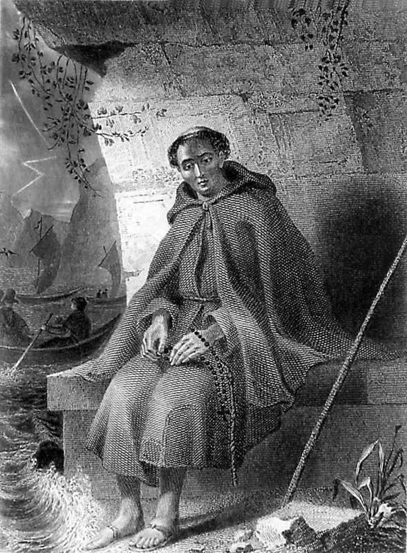 Тарас Шевченко. Католический монах