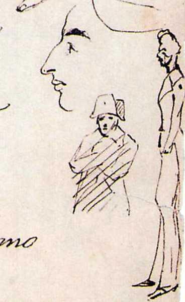 Taras Shevchenko. Half-size figure of…
