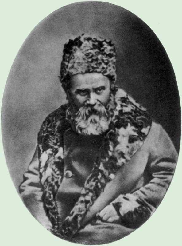 Taras Shevchenko. Photo 1858